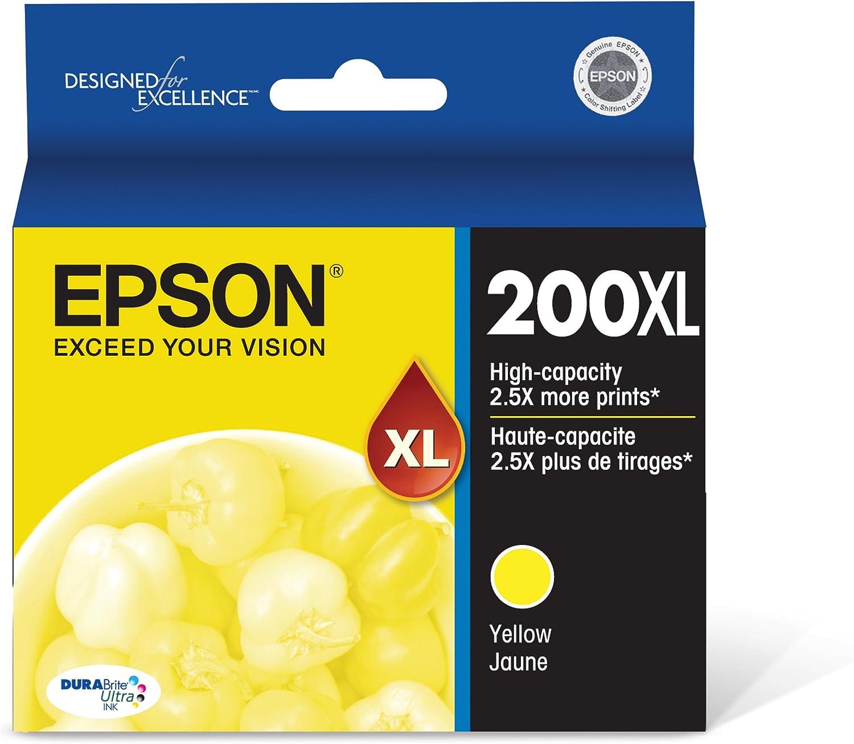 Epson T200XL420 DURABrite Ultra Yellow High Capacity Cartridge Ink