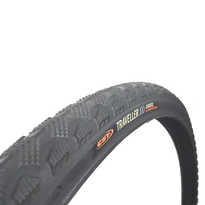 Pair CST Raleigh T1811 Traveller 700 x 35c Hybrid Bike Tyres