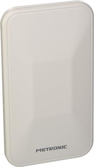 Metronic 415991 - Antena (Exterior, Blanco, 88-790 MHz, 40 dB, FM,UHF,VHF, F)