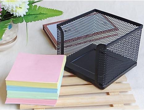 Caja metálica para artículos de Oficina, papelería, Escritorio, papelería, etc.: Amazon.es: Equipaje