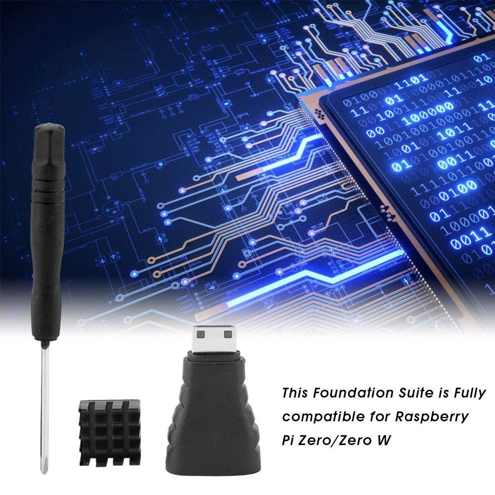 Compatible for Raspberry Pi Zero//Zero W Foundation Suite Kit Accessories for Raspberry Pi Zero W//Zero