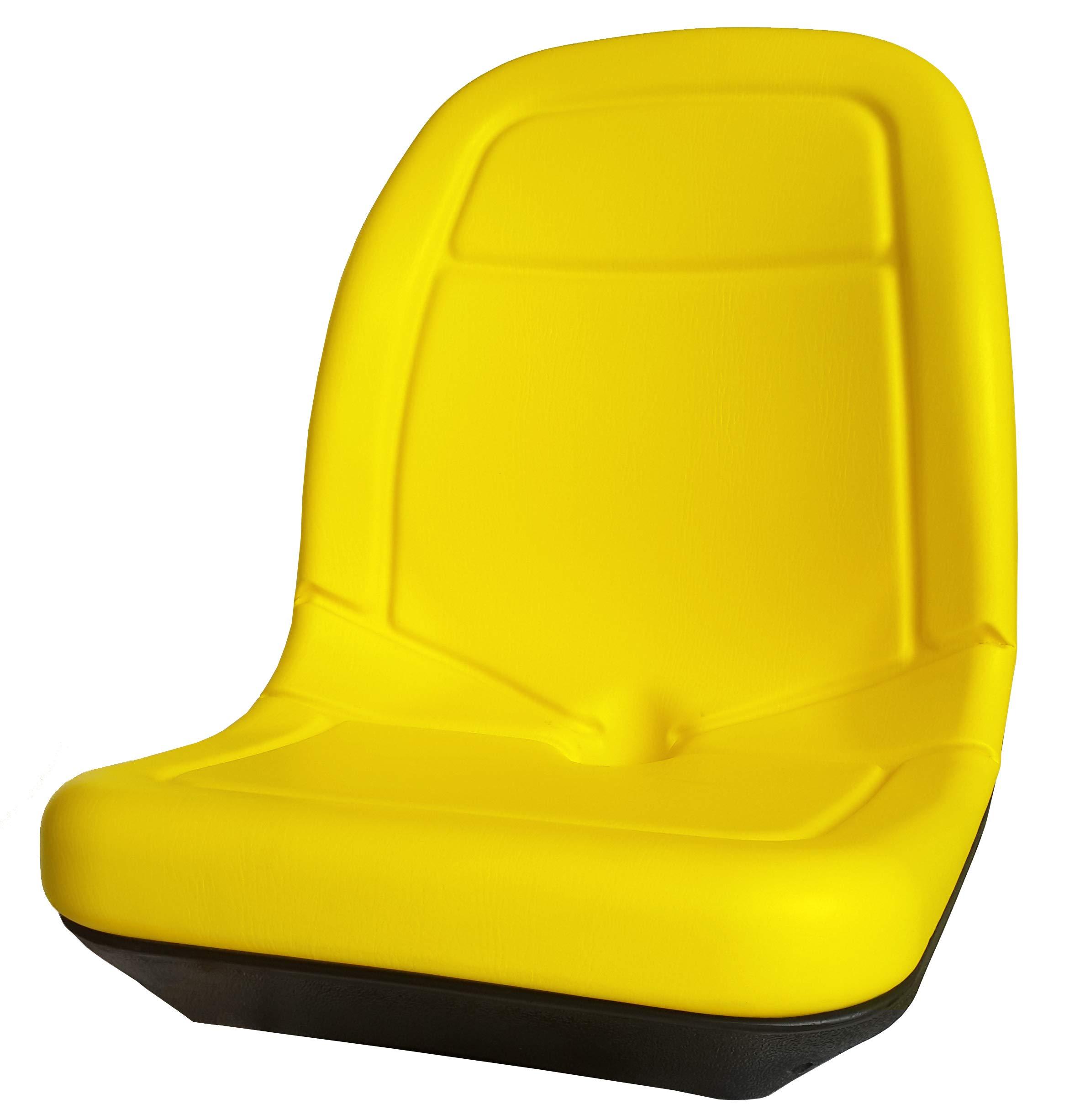 Star ST 2146 Yellow 21'' Gator Seat (for 4X2, 6X4, 4X4, CX E TE TH Trail Turf, John Deere: AM123636, AM129968, VG11696, VG12160, AM121752, AM129969 & All KUBOTA)