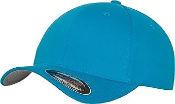 6cc3090e7e6 Flexfit - Wooly Combed - Casquette pour adulte - Bleu (Hawaiian Ocean) - XS