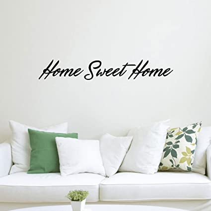 Amazon Home Sweet Home Inspirational Quotes Lettering Decor Mesmerizing Wall Art Quotes