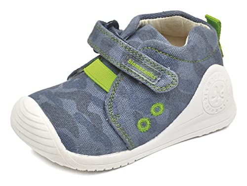 Biomecanics 172157, Zapatillas Bebé-para Niños, (Azul Marino/Estampado Camuflaje), 23 EU: Amazon.es: Zapatos y complementos