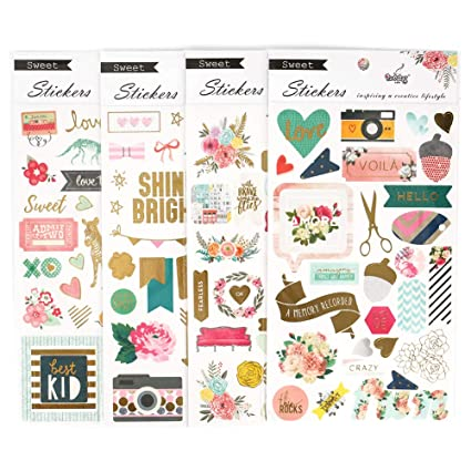 bullet journal stickers  : Merssyria 4 Sheets Planner Stickers, Stickers for Diary ...