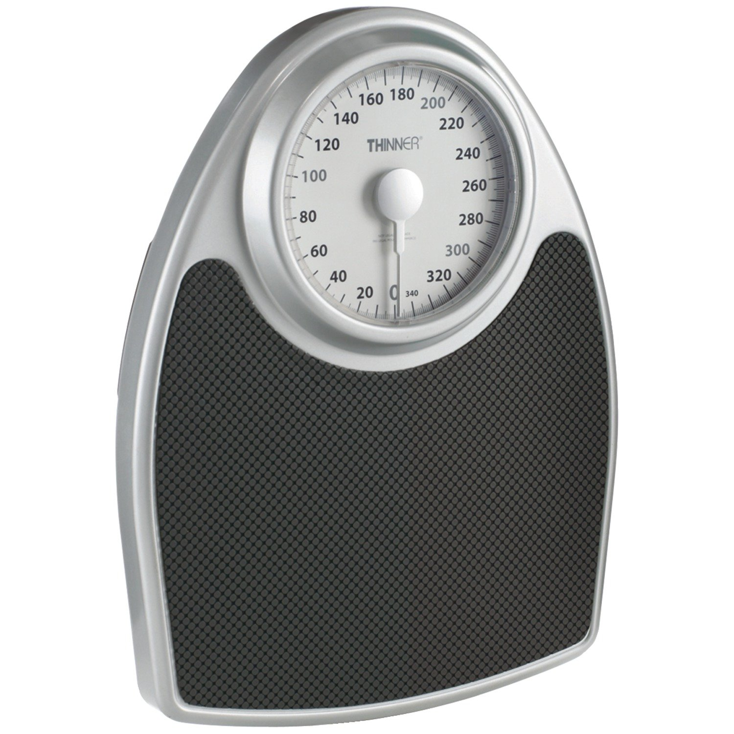 Thinner Extra-Large Dial Analog Precision Bathroom Scale; Bath Scale CONAIR Thinner Scales TH100S