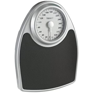 Thinner Extra Large Dial Analog Precision Bathroom Scale; Bath Scale