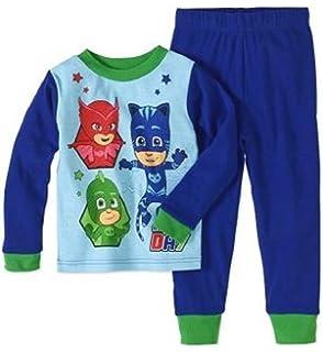 PJMASKS PJ Masks Toddler Boy Cotton Tight Fit Pajama, 2pc Set