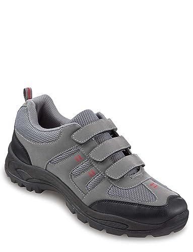 ba13cf9a296e8 Dr Keller Mens Touch Fasten Wide Fit Walking Shoe: Amazon.co.uk: Shoes &  Bags