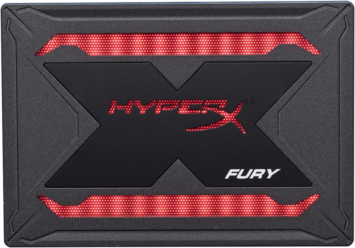 Disco Solido Hyperx Fury Rgb Ssd 240gb Sata 3 2.5 Shfr200