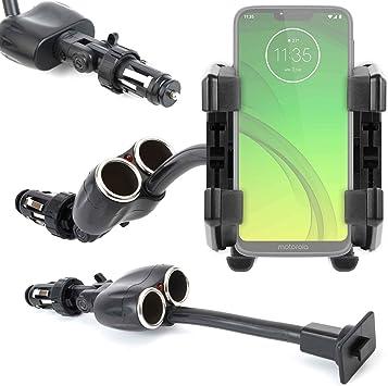 DURAGADGET Soporte para Coche para Smartphone Motorola Moto G7 ...