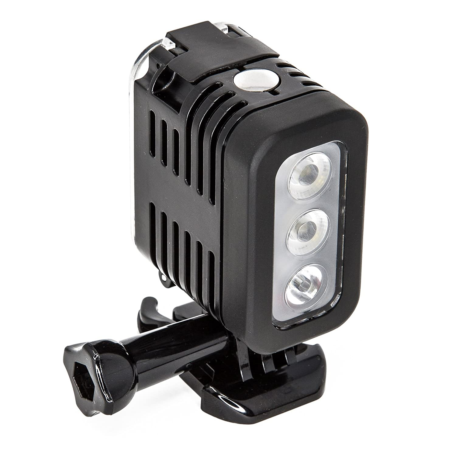 Ultimaxx 40m (131 FT) Waterproof LED Underwater Dive Light for GoPro HERO 6, 5, 4, 3+, 3 Series, HERO, HERO+, HERO+ LCD, GoPro HERO Session And Other Similar Sized Action Cameras 704660943522