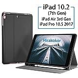 iPad 7th Generation Case Hirakokor iPad 10.2 2019 Case & iPad Pro 10.5 Case with Apple Pencil Holder & Auto Sleep/Wake…