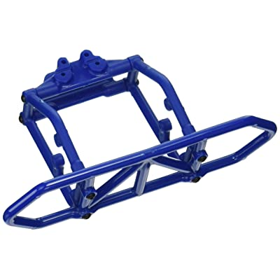 RPM Traxxas Slash 4x4 Rear Bumper, Blue: Toys & Games