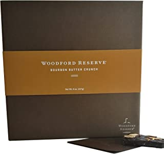 product image for Woodford Reserve Premium Bourbon Butter Crunch Gift Box, 16 Candies per box, delicious and perfect for holiday gifts