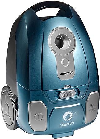 Concept Electrodomésticos VP8250 - Aspirador con Bolsa Ultra silencioso turbocepillo, 700 W, Color Azul: Amazon.es: Hogar
