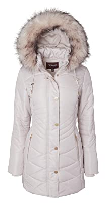 A nice, comfy and plus-size puffer jacket