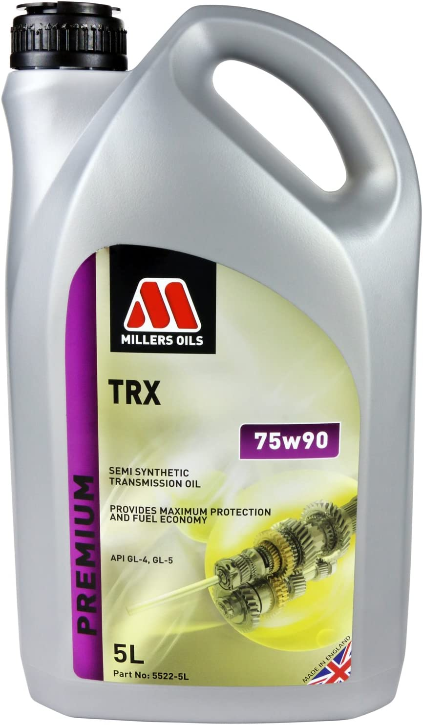Millers Aceites TRX Semi sintético 75 W90 recipiente de 5 L ...