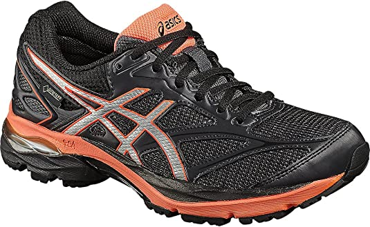 Asicsgel-Pulse 8 G-TX - Zapatillas Neutras - Black/Silver/Flash Coral: Amazon.es: Zapatos y complementos
