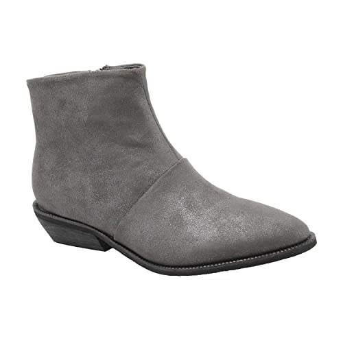 7b2f6a3cf4b Antelope Women s 346 Grey Suede Ankle Boots 37