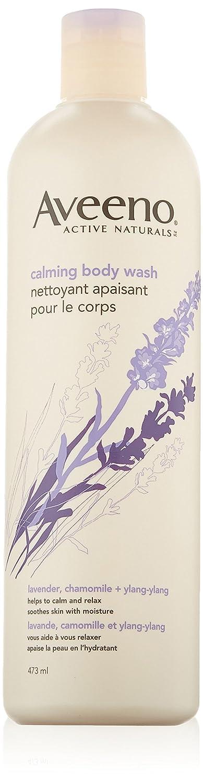 Aveeno Calming Body Wash with Lavender, Chamomile and Ylang-Ylang, 473ml