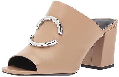 aee9474cab4 Amazon.com  Via Spiga Women s Eleni Block Heel Slide Sandal  Shoes