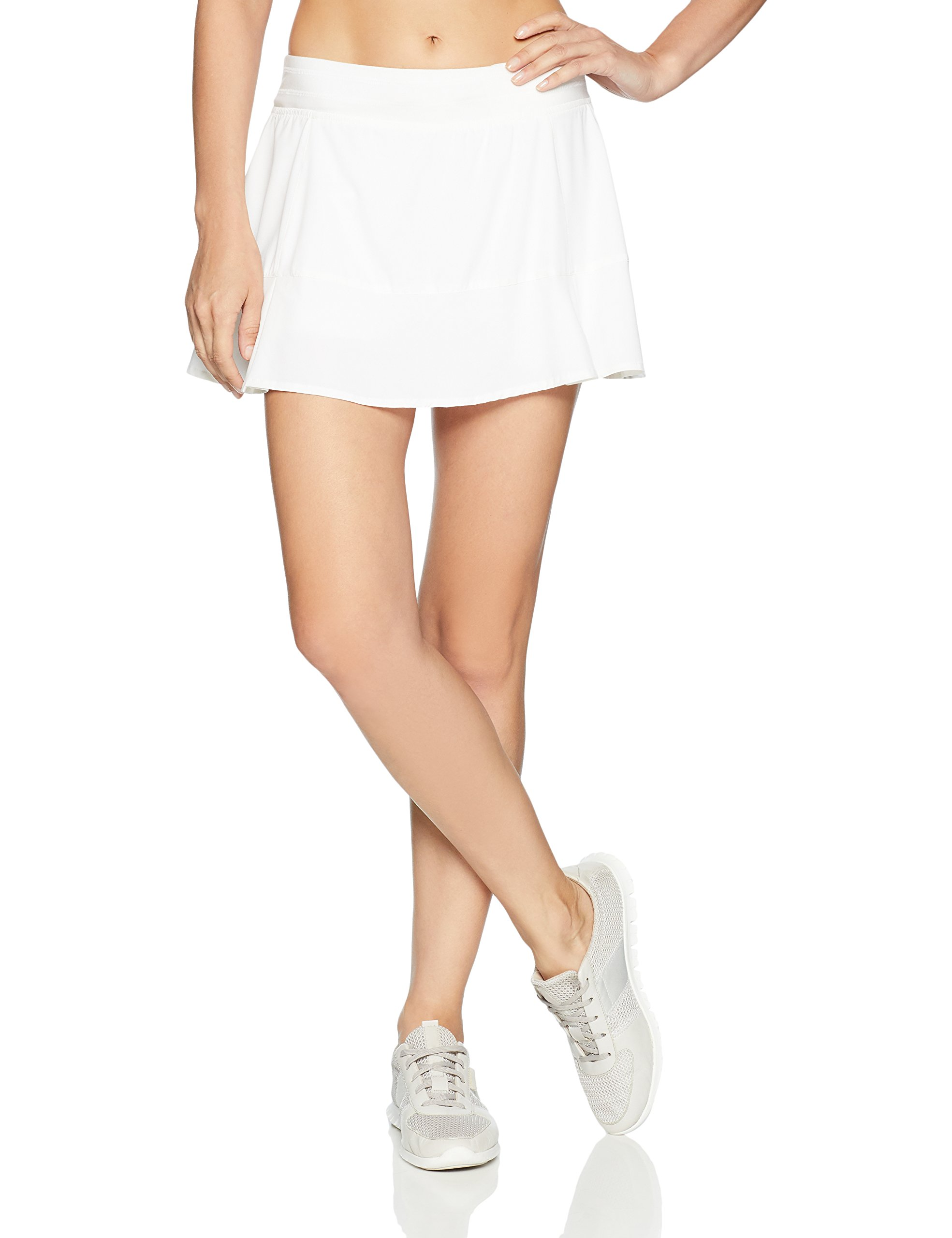 tasc Performance Rhythm Skirt, White, Large by tasc Performance