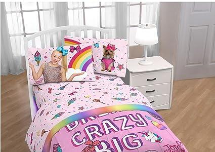 JOJO Siwa sueño Crazy Big Juego de sábanas