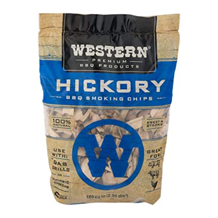 Amazon Com Western Premium Bbq Products Hickory Smoking Chips 180