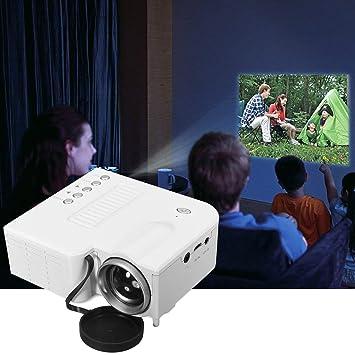 Lorenlli Encaje UC28B Mini proyector LED portátil 1080 P ...