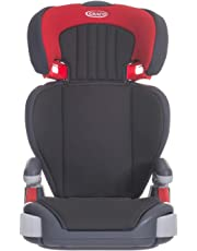 Graco Junior Maxi Lightweight Highback Booster Car Seat, Group 2/3, Pompeian Red