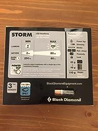 Amazon Com Black Diamond Strom Headlamp Aluminum Sports