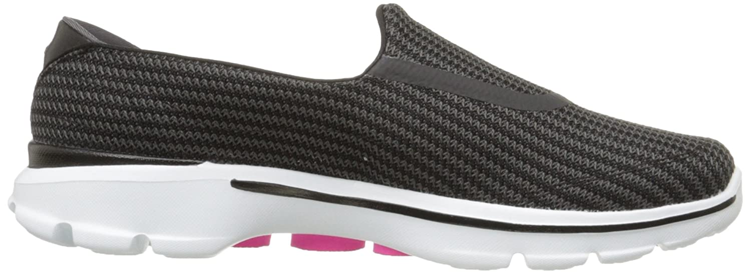 Skechers Performance Women's Go Walk 3 Slip-On Walking US|Black/White Shoe B00LL2OIY0 9 XW US|Black/White Walking 738591