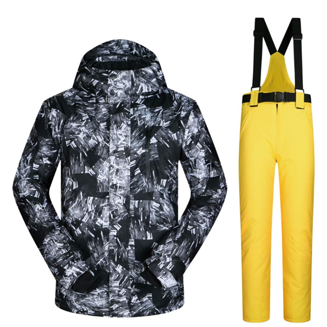 Nalkusxi Outdoor Escursionismo Neve Sport Sci Giacca e Pantaloni Pantaloni Pantaloni Snow Suit (Coloree   05, Dimensione   XXXL)B07KQ6K8ZKXXL 04 | Prezzo Pazzesco  | The Queen Of Quality  | Diversified Nella Confezione  | Materiali Di Altissima Qualità  | Bassi costi  | 71d51c