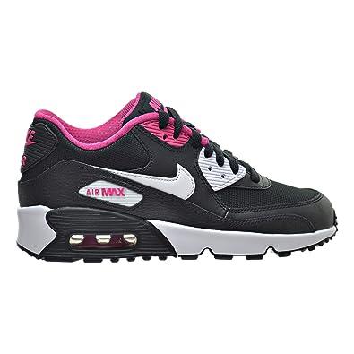 3caf44e94a ... leather big kids shoes elemental rose gridiron pink 570e1 c8da1 coupon  code nike air max 90 meshgs big kids shoes black white vivid 8612b 9e238 ...