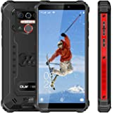 Rugged Cell Phone Unlocked OUKITEL WP5 Pro, 8000mAh Battery, 4GB+64GB ROM, Android 10 Rugged Smartphone, 5.5 Inch IP68 Waterp
