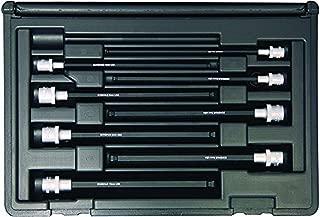 "product image for Bondhus 30887 Socket Ball End Bit Tool Set w/Sockets, 6"", 8 Piece"