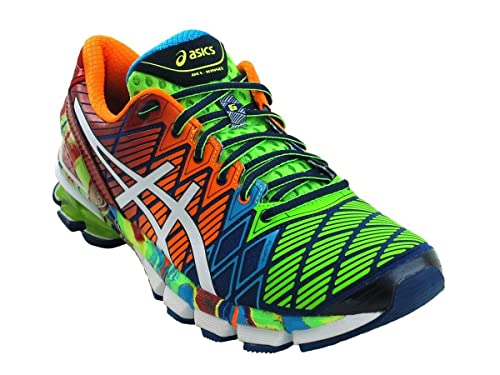 sports shoes f6fdd 85e69 ASICS Kinsei 5 Mens Running Shoes Navy White Chinese Red 9  Amazon.ca   Shoes   Handbags