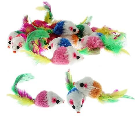 Amazon.com: bilipala Furry Ratones juguetes de conteo de ...