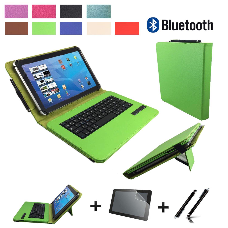 6e989ca0c46 Set de accesorios 3 en 1 para Samsung Galaxy Tab A6 Bluetooth Teclado Funda    - folie  Touch Pen   10.1 pulgadas verde Bluetooth 3 en 1: Amazon.es: ...