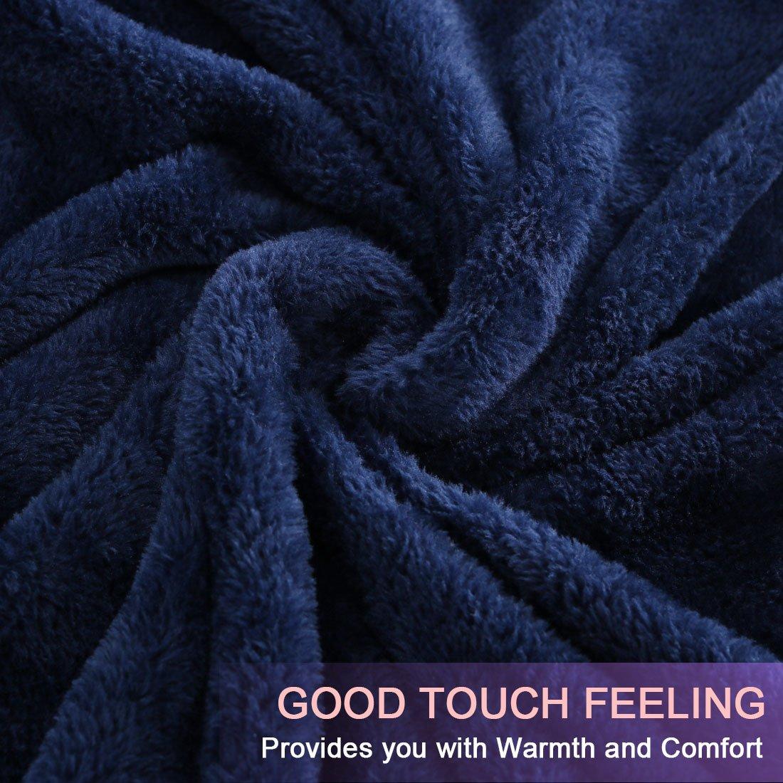uxcell Flannel Fleece Blanket Super Soft Lightweight Warm Fuzzy Throw Couch Bed Blanket Light Pink 180cm x 200cm a17121500ux0266
