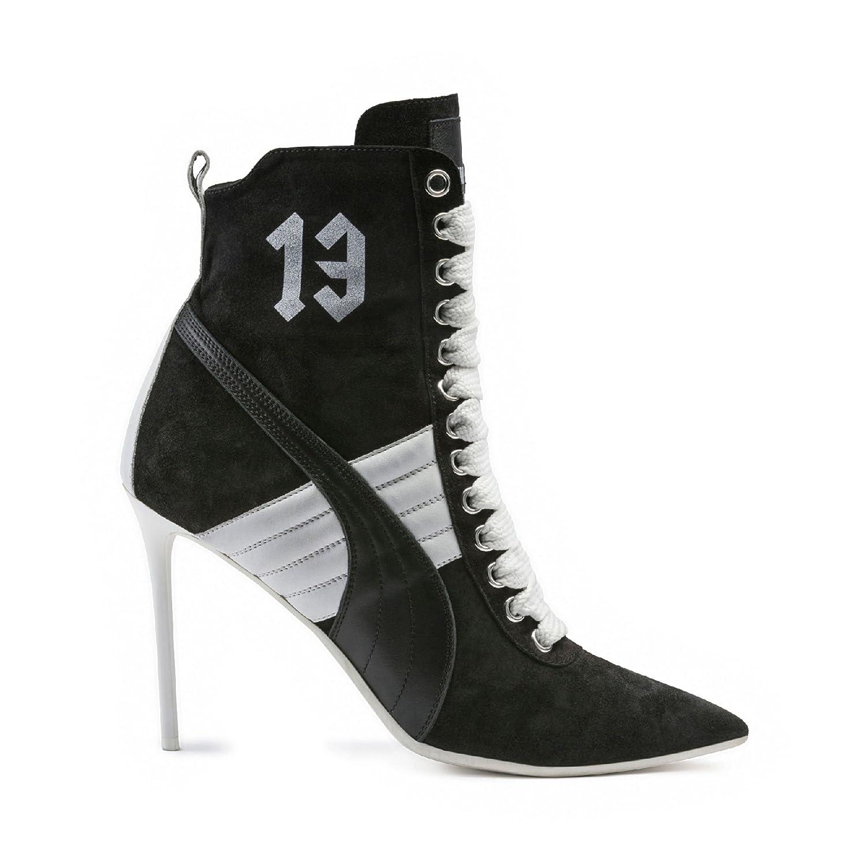 Puma- x Rihanna Fenty Women Lace Up Suede Stiletto High Heel Fashion Ankle  Boot Fashion Sneakers (8.5 3fe7a4488