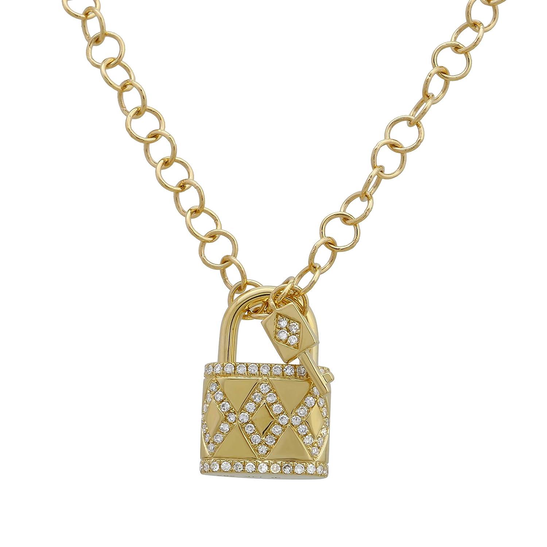 Cadenas con colgante de diamante creadas en laboratorio de 0 ...