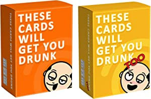 These Cards Will Get You Drunk [Complete Bundle] - Fun Adult Drinking Game for Parties