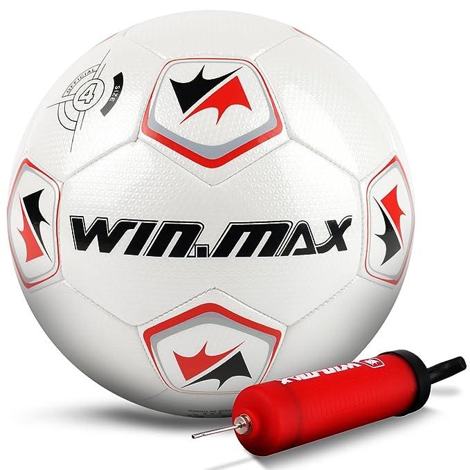 3 opinioni per Win.Max Pallone da allenamento, Calcio, Bambini e adolescenti Pallone da