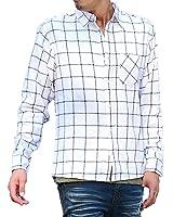 マイノリティセレクト(MinoriTY SELECT) ネルシャツ メンズ チェックシャツ 長袖 シャツ フランネル チェック柄