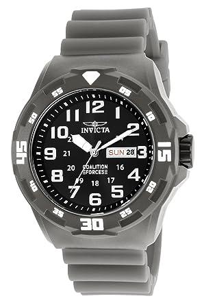 Invicta 25325 Coalition Forces Reloj para Hombre plastico Cuarzo Esfera negro: Invicta: Amazon.es: Relojes