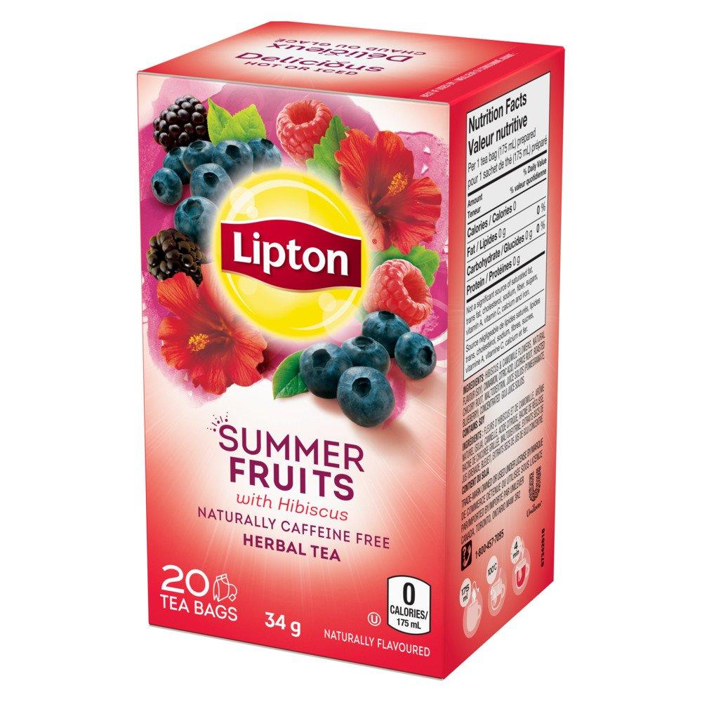 Lipton® Summer Fruits Herbal Tea Bags 20 ct by Lipton (Image #3)