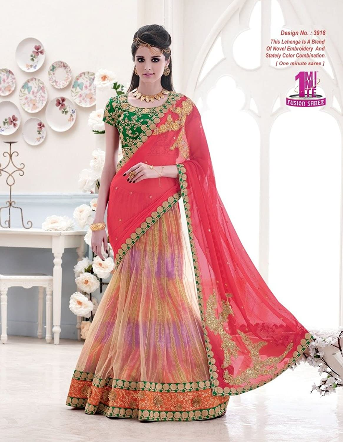 Fashion and you lehenga saree 9